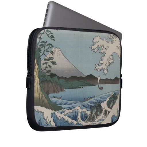 Vintage Japanese The Sea of Satta Laptop Sleeve