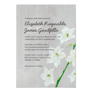 Vintage Jasmine Wedding Invitations