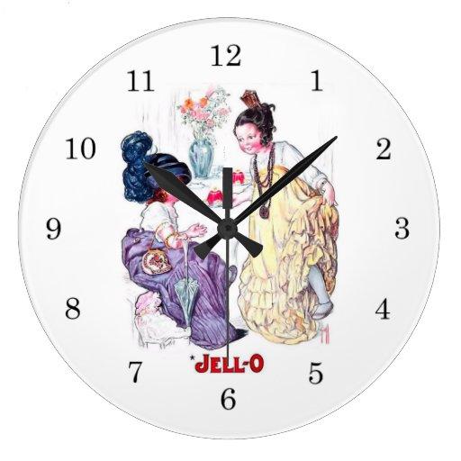 Vintage Jello Wall Clock