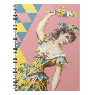 Vintage Jester Notebook