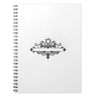 Vintage Jewish Header Notebook