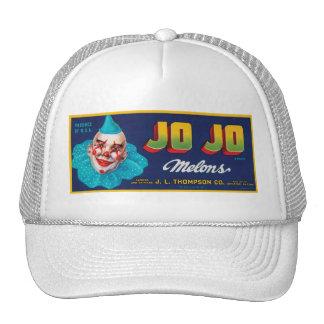 Vintage JO JO Melons Crate Label Mesh Hat