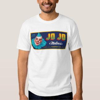 Vintage JO JO Melons Crate Label T Shirt