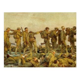 Vintage John Singer Sargent World War I Gassed Postcard