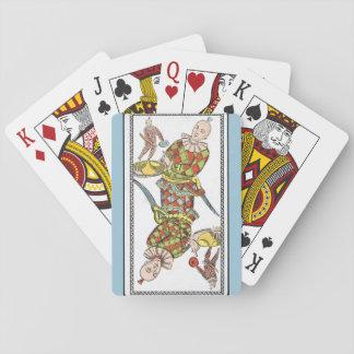 vintage joker playing cards