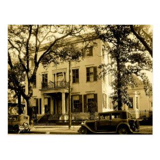 Vintage Jonathan Emanuel Mansion, Mobile Alabama Postcard