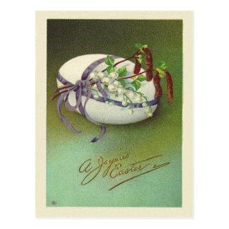 Vintage Joyous Easter Postcard