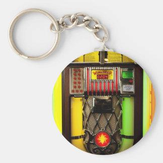 Vintage Jukebox Key Ring