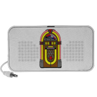 Vintage Jukebox Travelling Speakers