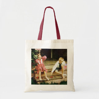 Vintage July Fourth Fun Tote Bag