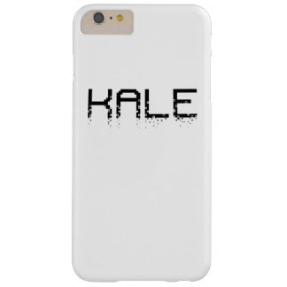 Vintage Kale University Funny Vegan Barely There iPhone 6 Plus Case