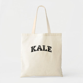 Vintage Kale University Funny Vegan Tote Bag
