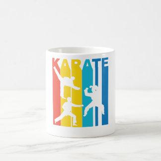 Vintage Karate Graphic Coffee Mug