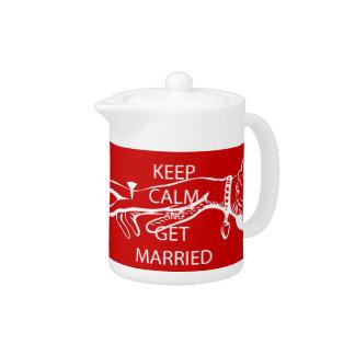Vintage KEEP CALM  GET MARRIED