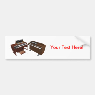 Vintage Keyboards: 3D Model: Bumper Sticker
