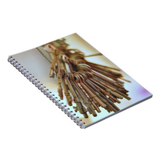 Vintage Keys Notebook