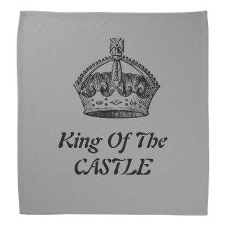 Vintage King of the castle Crown  Bandanna
