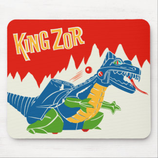 Vintage King Zor Mousepad