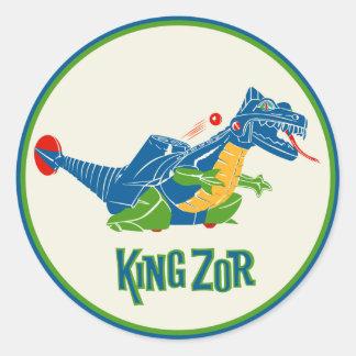 Vintage King Zor Toy Sticker