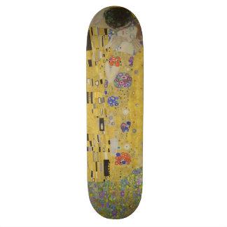 Vintage Kiss (Lovers) by Gustav Klimt GalleryHD Skate Board Decks