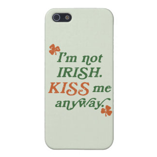 Vintage Kiss Me Anyway iPhone 5 Case