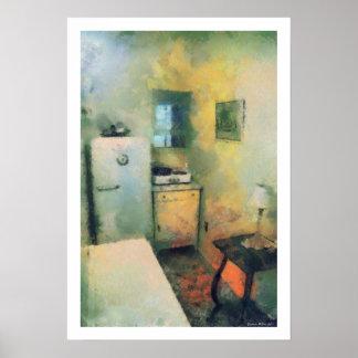 Vintage Kitchen Artwork Poster