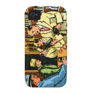 Vintage Kitsch 30s Booze Liquor Store Matchbook iPhone 4 Cover