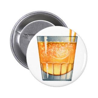 Vintage Kitsch Drinks Cocktail Scotch Mist Pin