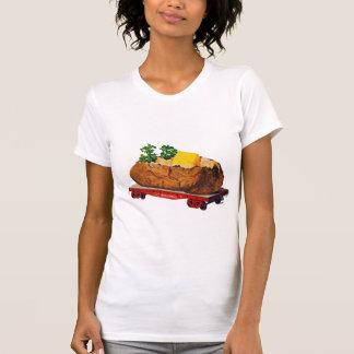 Vintage Kitsch Giant Baked Potato Tater Express Tshirt