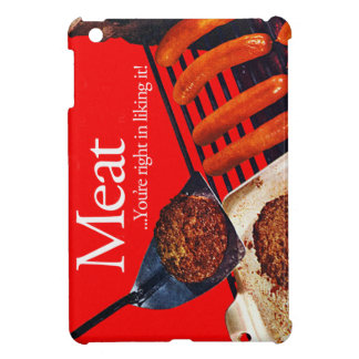 Vintage Kitsch Hamburger Meat You're Right To Like Case For The iPad Mini