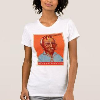 Vintage Kitsch Kishkalwa Indian Gum Trading Card T Shirts