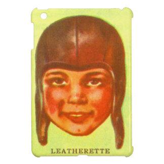 Vintage Kitsch Pulp Football Leatherette Helmet Case For The iPad Mini