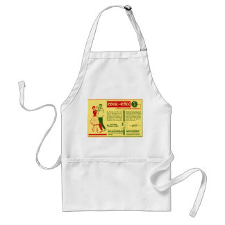 Vintage Kitsch Rock and Roll Dance Dutch 50s Card Apron