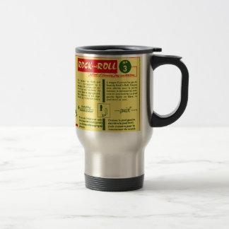 Vintage Kitsch Rock and Roll Dance Dutch 50s Card Coffee Mug