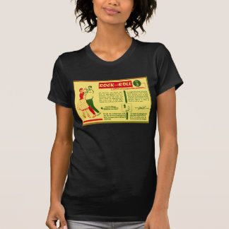 Vintage Kitsch Rock and Roll Dance Dutch 50s Card T Shirts