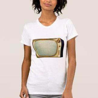 Vintage Kitsch TV Old Television Set illustration Shirts