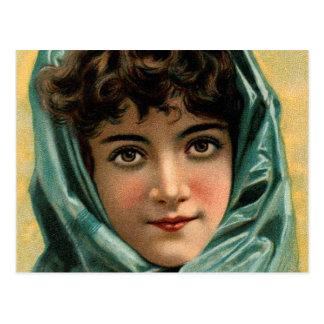 Vintage Kitsch Victorian Glenwood Stove Trade Card Post Card