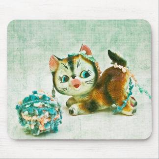 Vintage Kitty Cat Mousepad