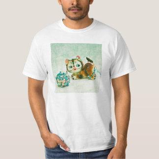 Vintage Kitty Cat T Shirt