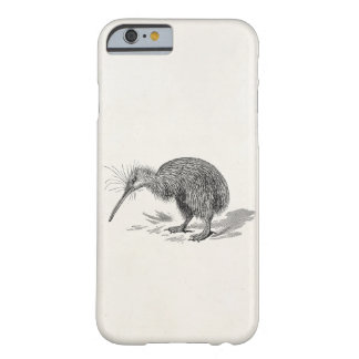 Vintage Kiwi Bird Antique Birds Template Barely There iPhone 6 Case