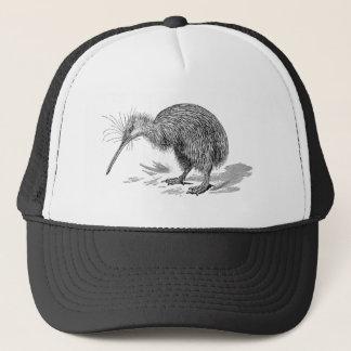 Vintage Kiwi Bird Antique Birds Template Trucker Hat