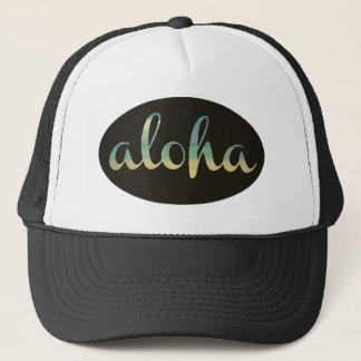 Vintage Kodachrome Aloha Trucker Hat