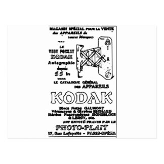 Vintage Kodak Advert Postcard