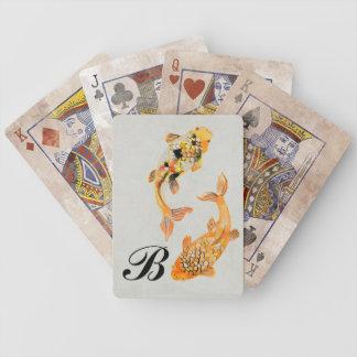 Vintage Koi Bicycle Playing Cards