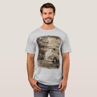 Vintage Kombi Microbus, Festival Wanderlust, T-Shirt