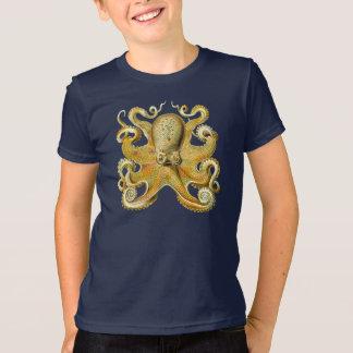 Vintage Kraken, Octopus Gamochonia, Ernst Haeckel Tshirt