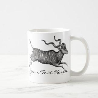 Vintage Kudu Coffee Mug