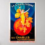Vintage La Chabilsienne Print