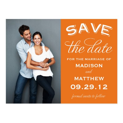 VINTAGE LABEL | SAVE THE DATE ANNOUNCEMENT POST CARDS