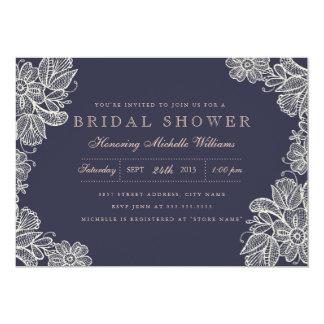 Vintage Lace Bridal Shower Invitation